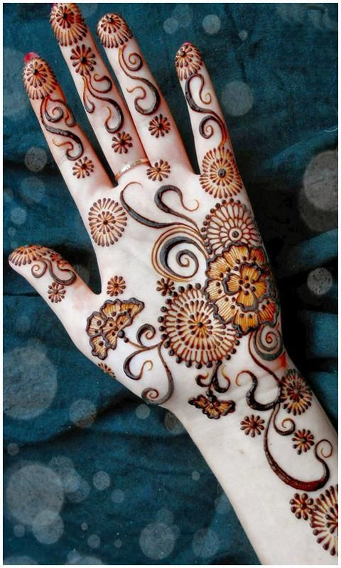 Latest Mehndi Designs 2017 screenshot 8
