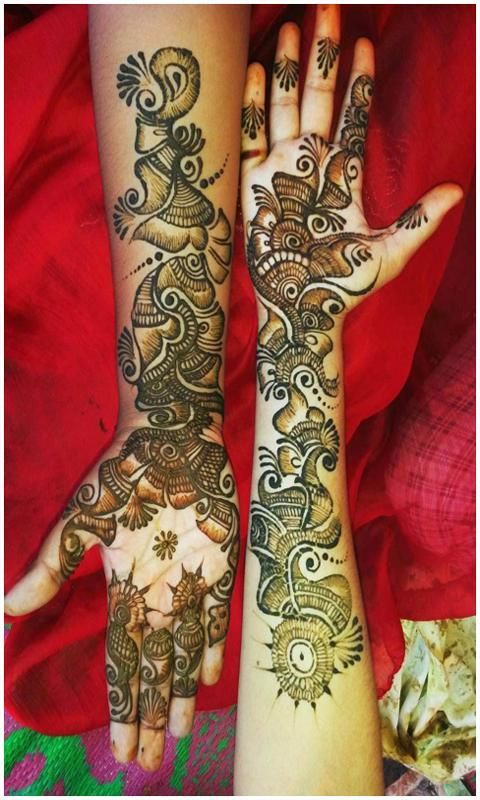 Latest Mehndi Designs 2017 screenshot 3