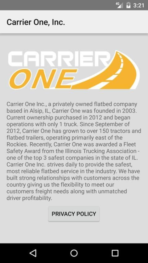 Carrier One, Inc. स्क्रीनशॉट 5