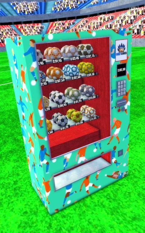 Vending Machine Soccer Ball screenshot 2