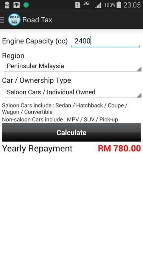 Car Loan Calculator (Malaysia) screenshot 4
