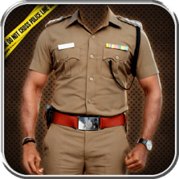 Police Suit Photo Frames icon