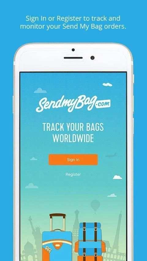 Send My Bag App 5 تصوير الشاشة