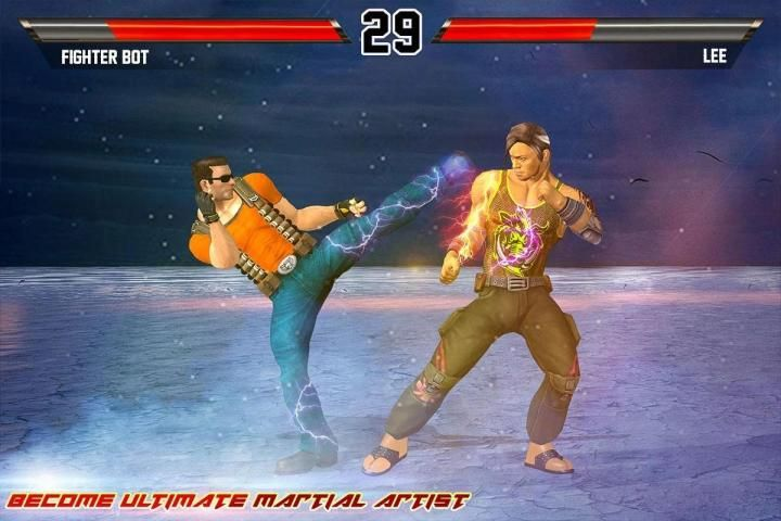 Kung Fu Action Fighting: Best Fighting Games screenshot 2