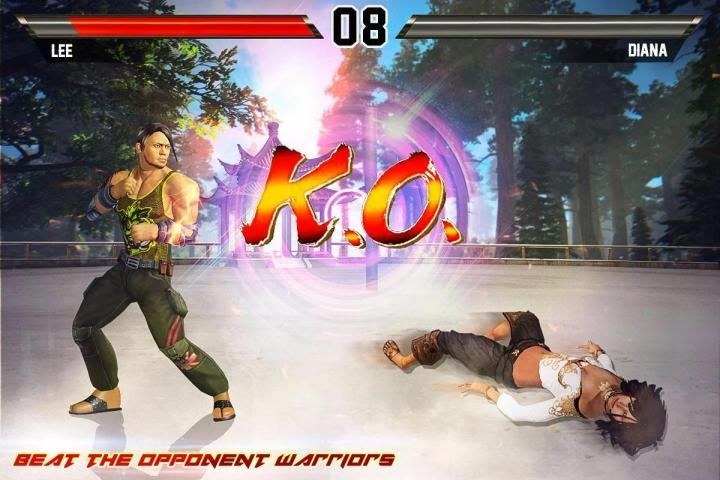 Kung Fu Action Fighting: Best Fighting Games screenshot 1