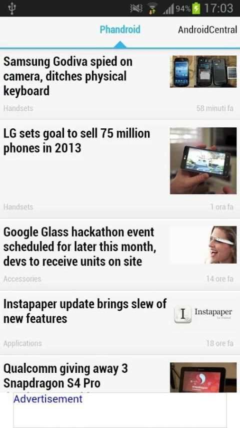 News on the Android™ world screenshot 1