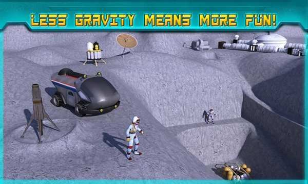 Space Moon Rover Simulator 3D screenshot 11