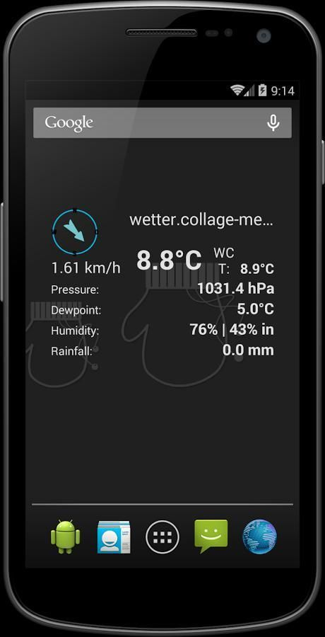 My WeatherLink (Unofficial) 1 تصوير الشاشة