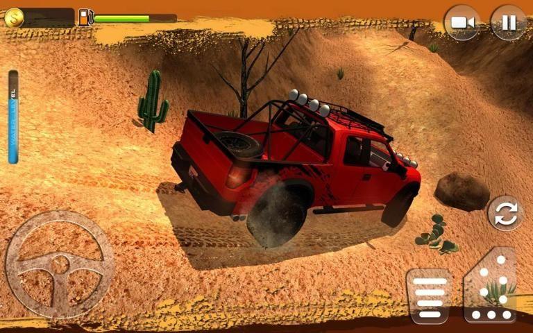 Offroad Muscle Truck Driving Simulator 2017 screenshot 5