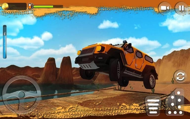 Offroad Muscle Truck Driving Simulator 2017 screenshot 8