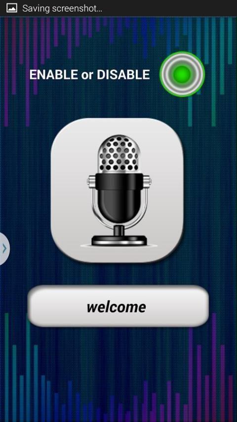 Voice Lock Screen 2 تصوير الشاشة