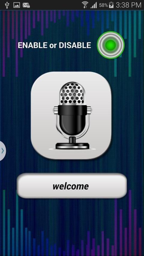 Voice Lock Screen 3 تصوير الشاشة