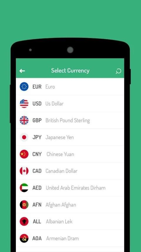 Currency Converter Free - Live Money Exchange Rate screenshot 3