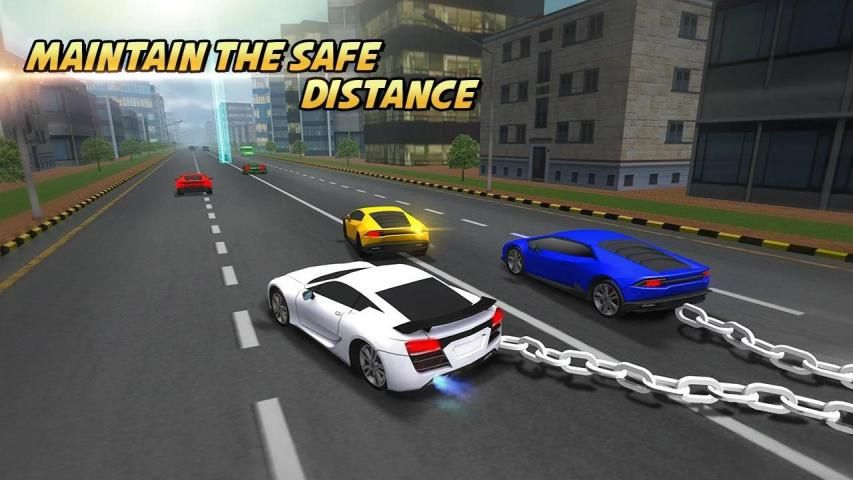 Highway Chained Car Race screenshot 4