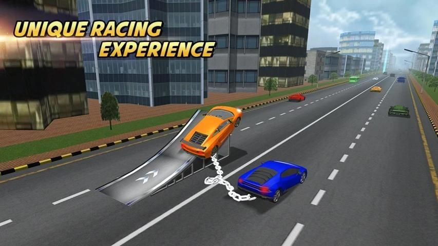Highway Chained Car Race screenshot 5