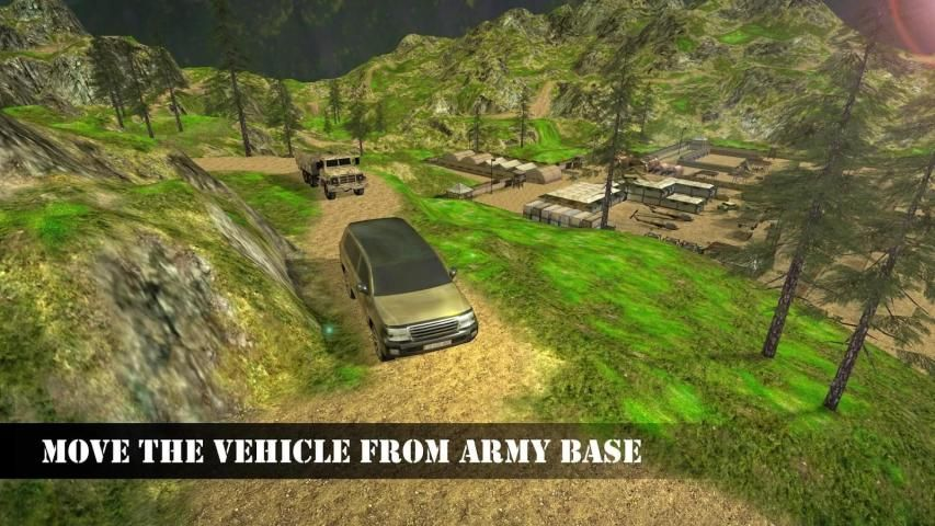 US Army Offroad Prado Cruiser screenshot 3