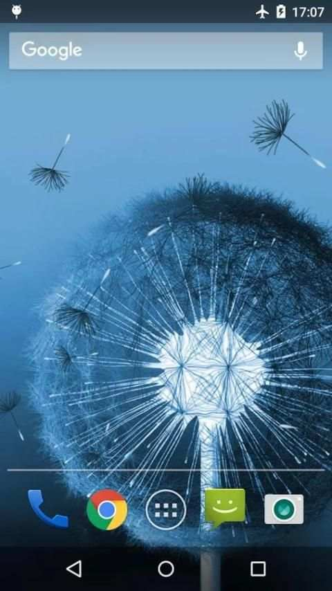 Dandelion Live Wallpaper 6 تصوير الشاشة