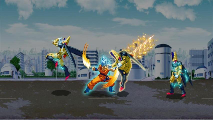 Z Fighter Super Goku : Dragon Saiyan Battle screenshot 5
