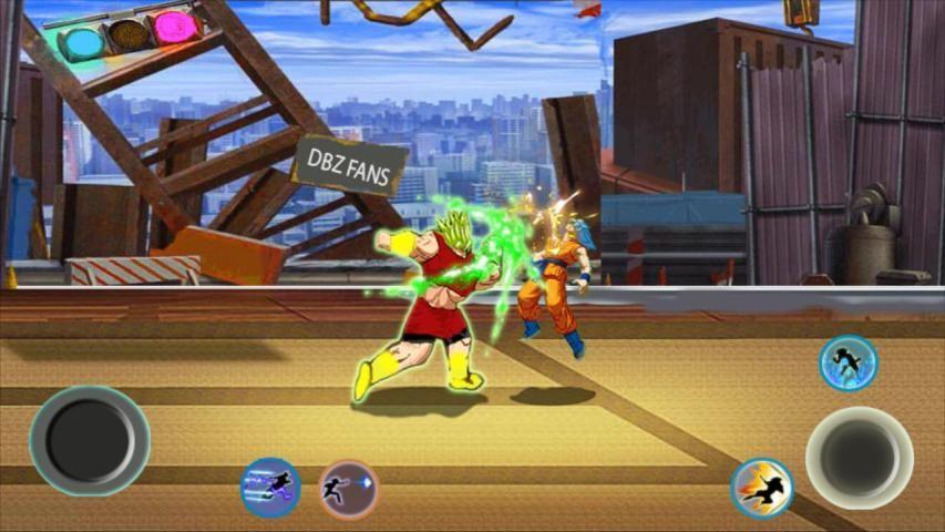 Z Fighter Super Goku : Dragon Saiyan Battle screenshot 4