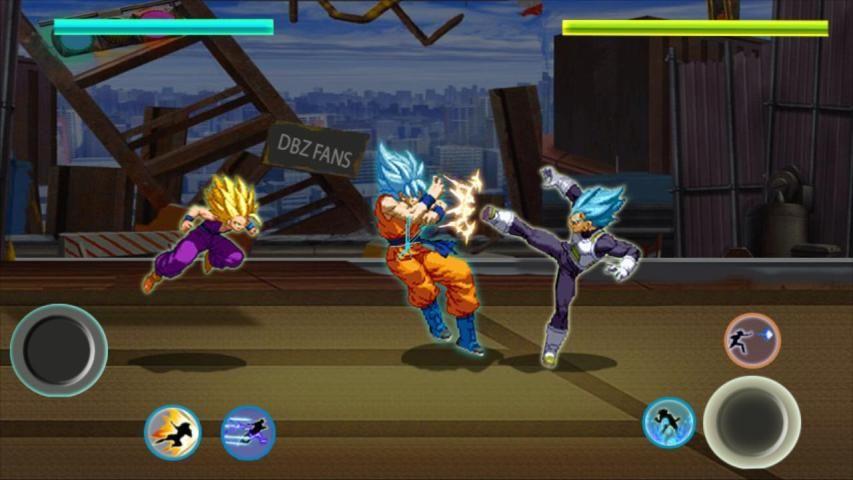 Z Fighter Super Goku : Dragon Saiyan Battle screenshot 2