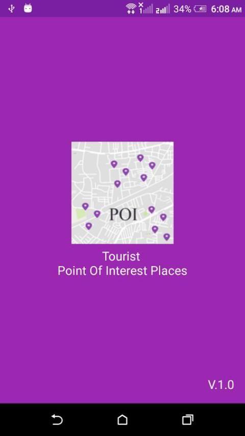 Tourist Places POI 3 تصوير الشاشة