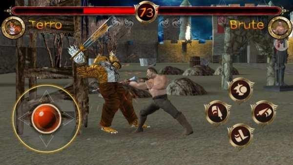 Terra Fighter - Deadly Wargods (3D Fighting Games) screenshot 2