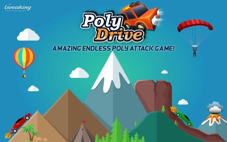 Poly Drive - Endless Power Attack screenshot 5