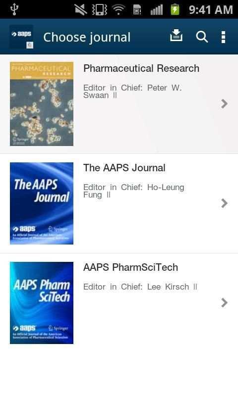 AAPS Journals screenshot 11