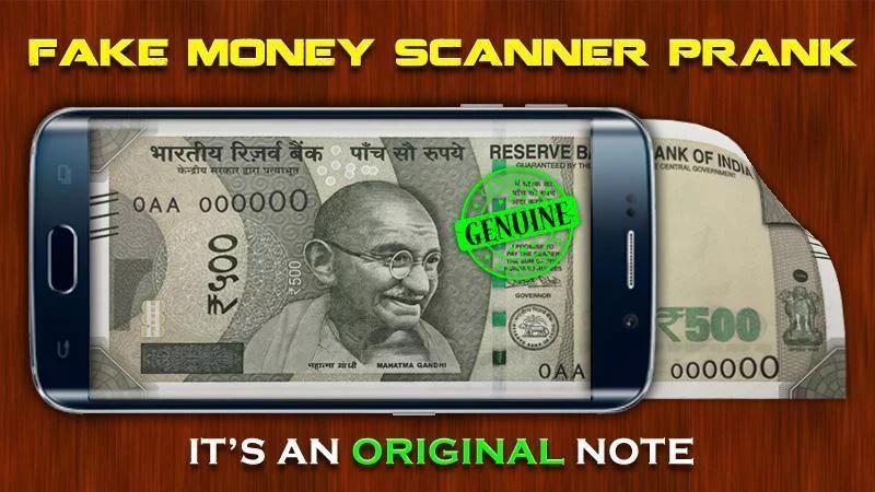 Fake Money Scanner Prank screenshot 2