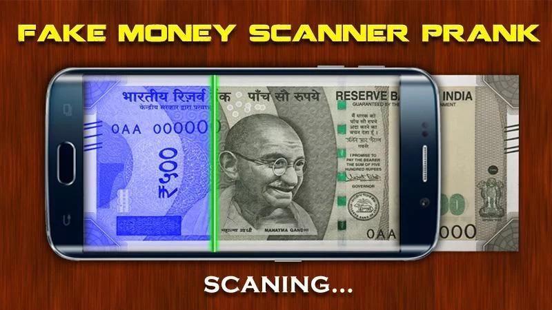 Fake Money Scanner Prank screenshot 3