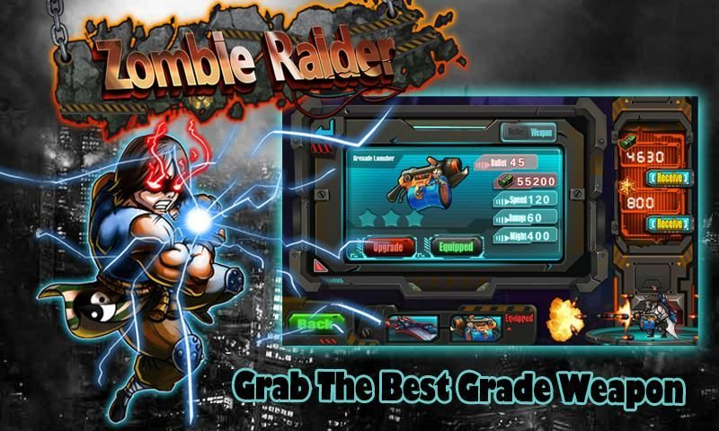 Zombie Raider: Halloween Ed screenshot 2