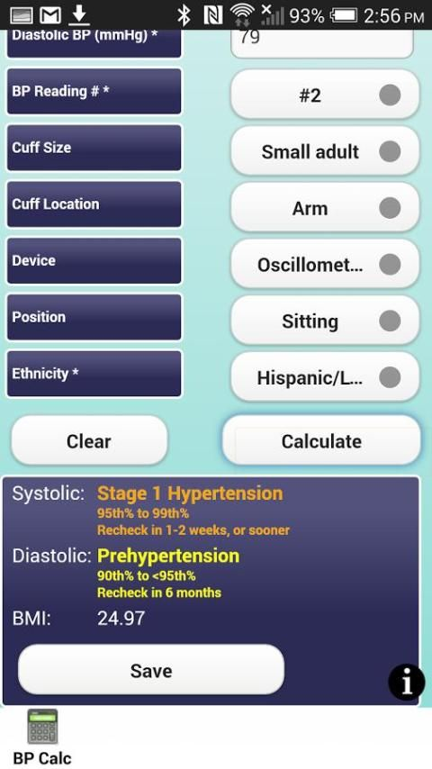 Pedia BP screenshot 3