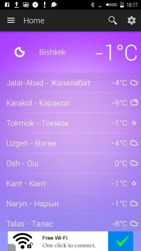 Kyrgyzstan Weather screenshot 2