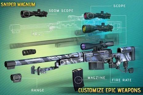 Sniper Legacy 3D: City Sniper Games 1 تصوير الشاشة