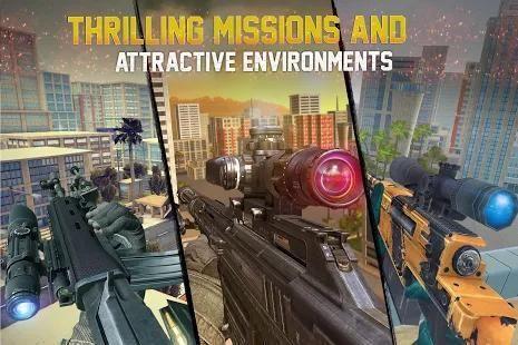 Sniper Legacy 3D: City Sniper Games 2 تصوير الشاشة