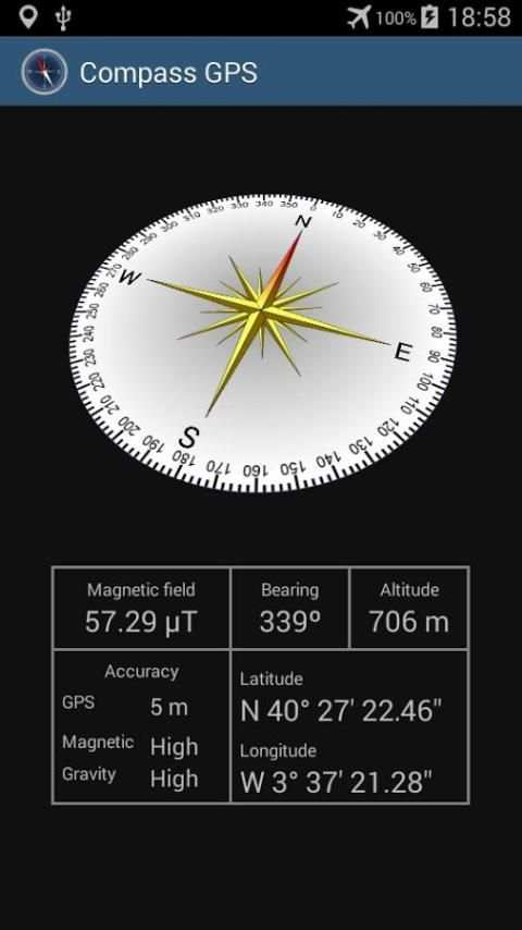 Compass with GPS screenshot 2