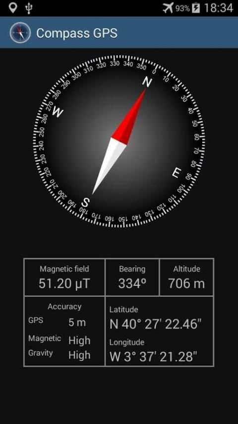 Compass with GPS screenshot 1