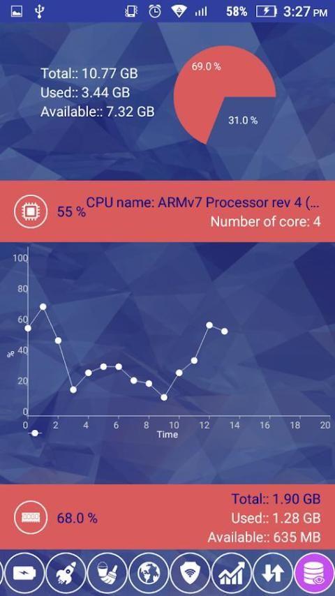 RAM cleaner screenshot 1