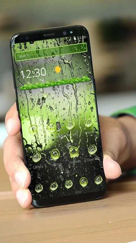 Rainy Water Drops screenshot 3