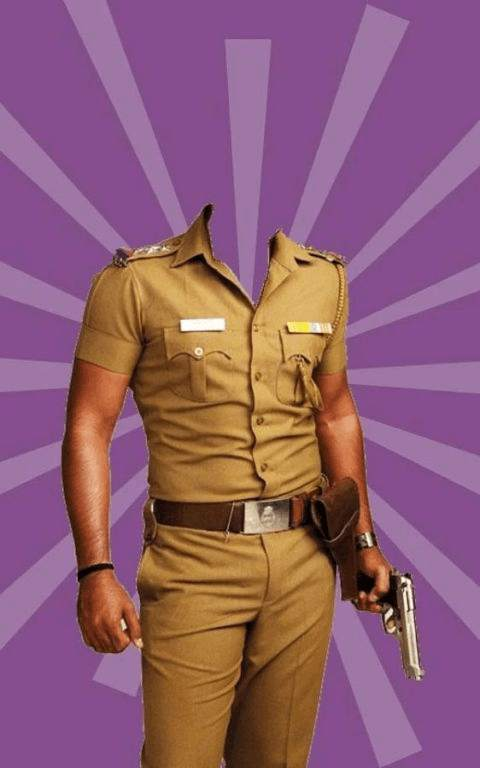 Photo Suit for Indian Police screenshot 1
