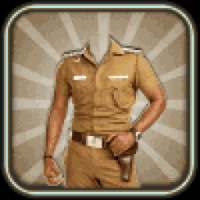 Photo Suit for Indian Police icon