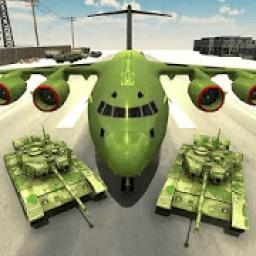 US Army Transport Game - Army Cargo Plane & Tanks icon