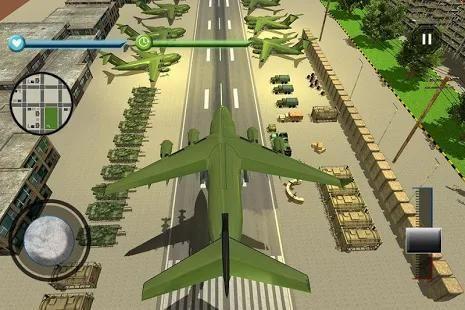 US Army Transport Game - Army Cargo Plane & Tanks screenshot 12