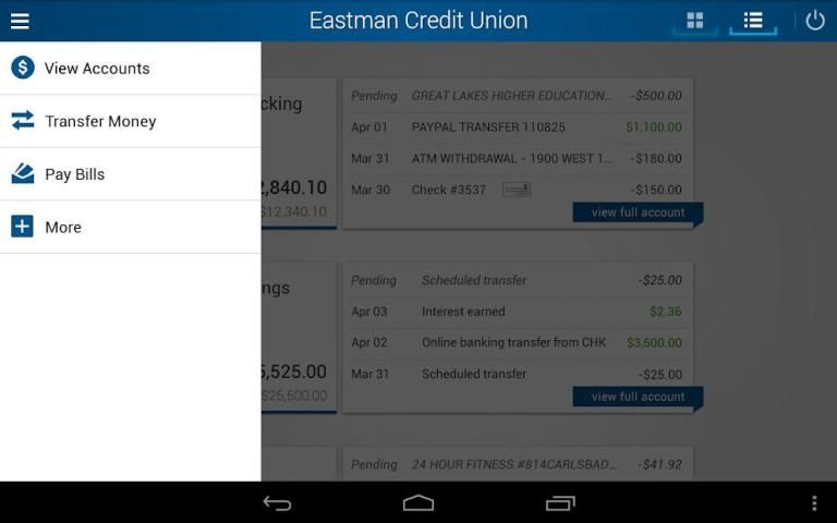 Eastman Credit Union Mobile screenshot 6