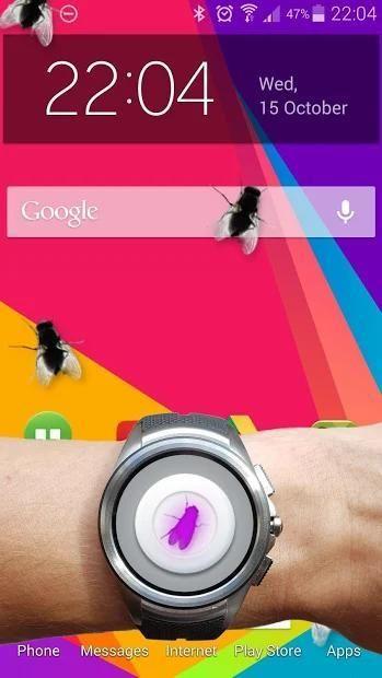 Fly in phone funny joke 2 تصوير الشاشة