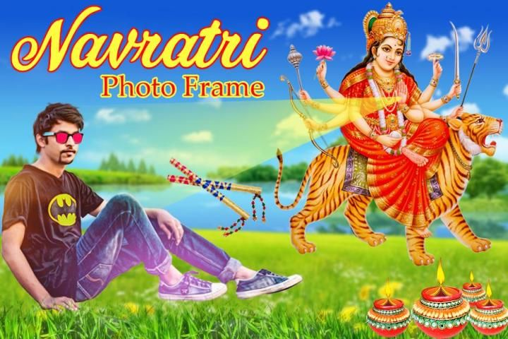Navratri Photo Frame screenshot 3