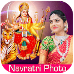 Navratri Photo Frame icon