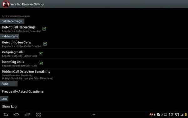 WireTap and Spy Removal screenshot 7