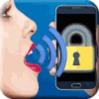 Unlock screen by voice! أيقونة
