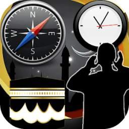 Azan Time Prayer Time Qibla